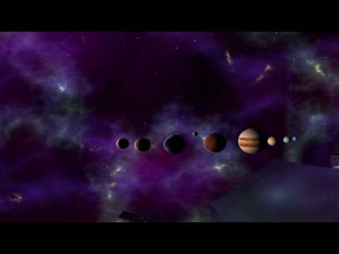 Virtual Reality Space 360 - Solar System tour by Etechan