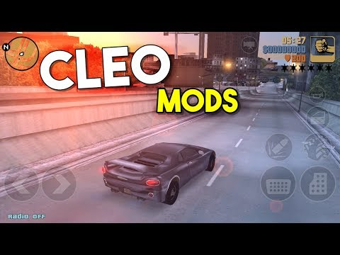 GTA III MOD CLEO  (Only 10MB) - Android