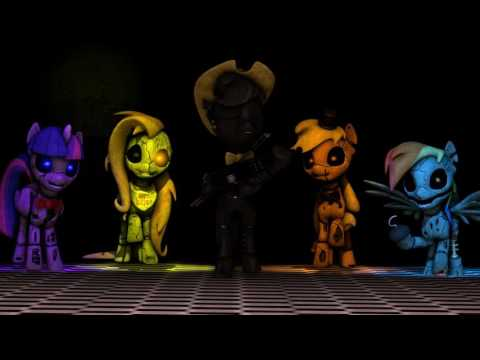 SFM Rainbow Factory  Wooden Toaster MLP FNAF