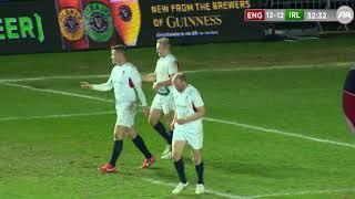 England Legends v Ireland Legends HIGHLIGHTS 16/3/18