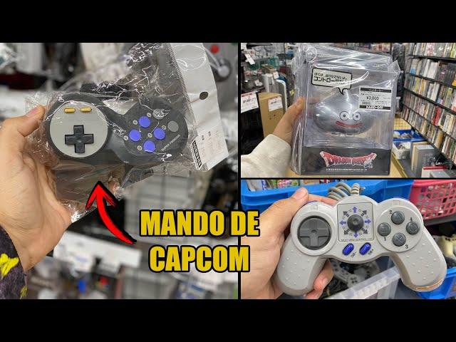 MANDOS RAROS en TIENDAS de JAPON | EP 1  | videojuegos , capcom, dragon quest, playstation