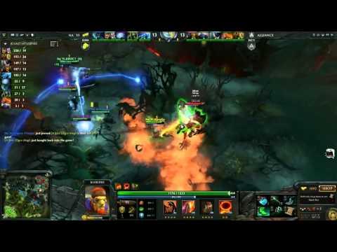Na'vi VS Alliance Game 3 Epic Highlights {Dendi Io}