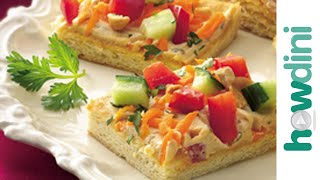 Appetizer Recipes: How To Make Thai Pizza Appetizers