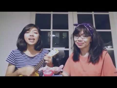 SLANK - I Miss You But I Hate You (ukulele cover Ajeng ft. Mom)