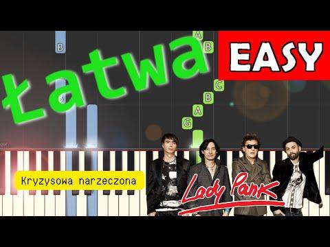 🎹 Kryzysowa Narzeczona (Lady Pank) - Piano Tutorial (łatwa wersja) 🎹