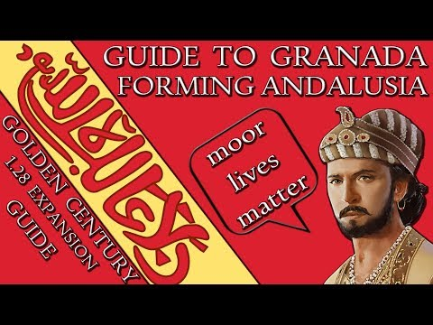 EU4 Guide: How to Form Andalusia as Granada