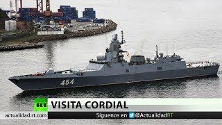 Barcos rusos de la Flota del Norte llegan a la costa de Cuba