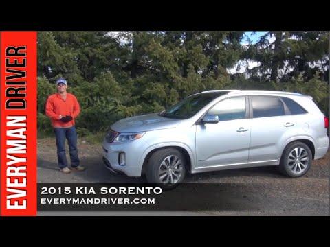 Here's the 2015 Kia Sorento on Everyman Driver