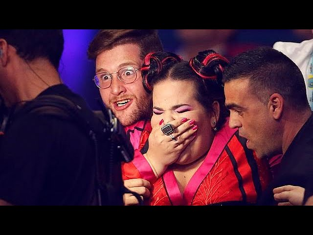 Israel's Netta basks in Eurovision glory after taking first prize in Lisbon
