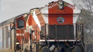"RARE: LADY ALP EXCHANGING TOKEN & GOLDEN JUBILEE LOCO   TKD WDP-4B #40079 ""PRATEEK"" :INDIAN RAILWAYS"