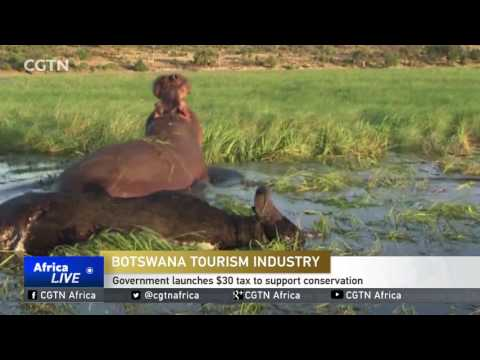 Botswana government launches $30 tax to support conservation