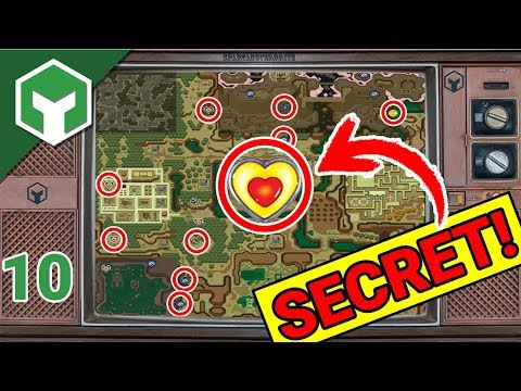 So many Dark World SECRETS | Zelda Link to the Past | SNES mini Classic