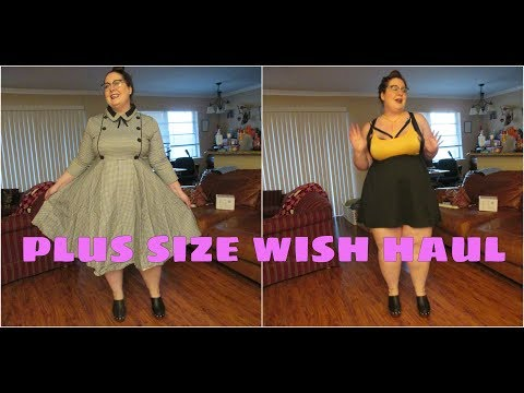 Plus Size Wish Haul