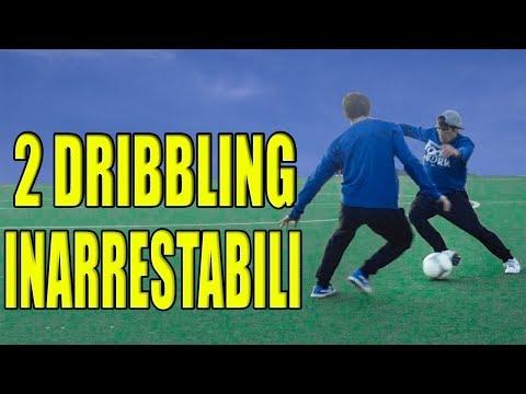 impara 2 DRIBBLING INARRESTABILI !!! tutorial calcio footwork Italia