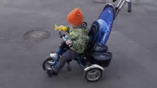 Велосипед Lexus Trike Original VIP 2013 от Rich Toys(Подробности тут: http://www.otzovik.com/review_2099120.html На видео ребёнку 2,8 лет, катается на велосипеде уже без помощи взрос..., 2015-05-18T12:12:33.000Z)