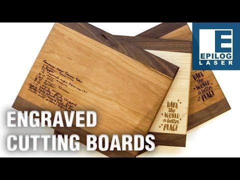 Laser Engraving Cutting Boards