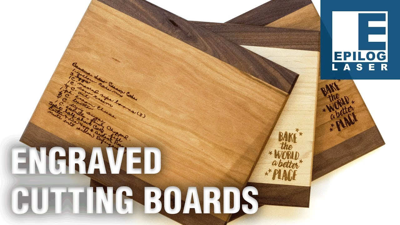 laser engraving cutting boards youtube