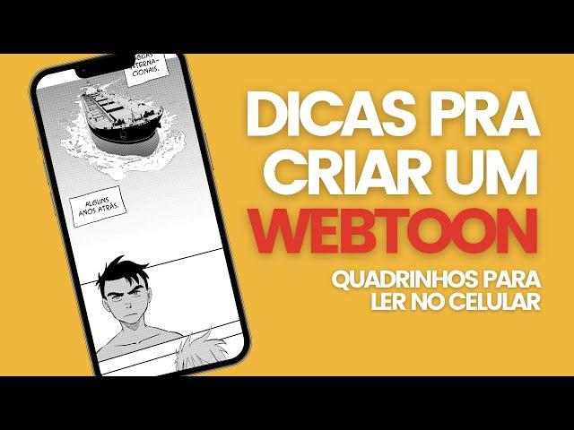 Como fazer um webtoon