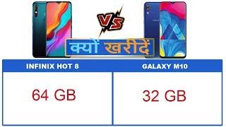Infinix Hot 8 vs Samsung Galaxy M10 Comparison and Reason to Buy