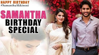 Samantha Akkineni Birthday Special Video | Happy Birthday Samantha | Silver Screen