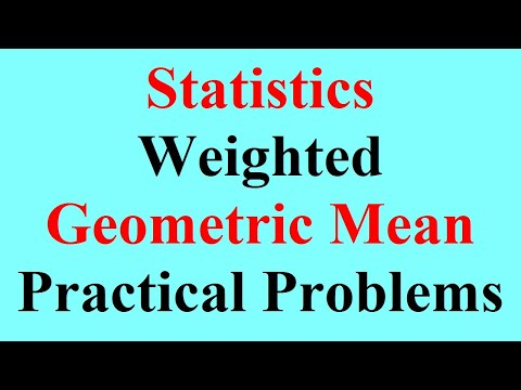 13 Weighted Geometric Mean  Problem