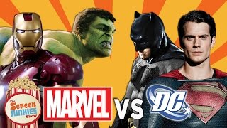 Marvel's Civil War vs. DC's Justice League!