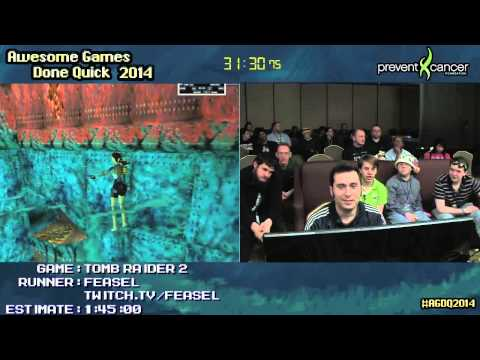 Tomb Raider 2 :: SPEED RUN (1:46:14) by Feasel #AGDQ 2014
