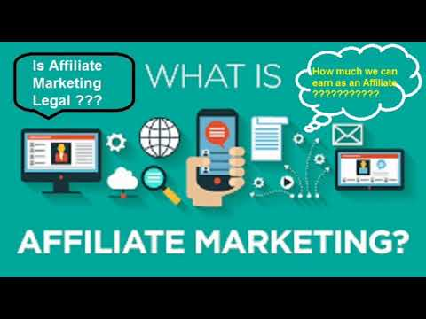 Affiliate Marketing Guide for Beginners II How Much You Can Earn From It ???