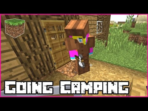 Going Camping / Minecraft Roleplay with Ronald