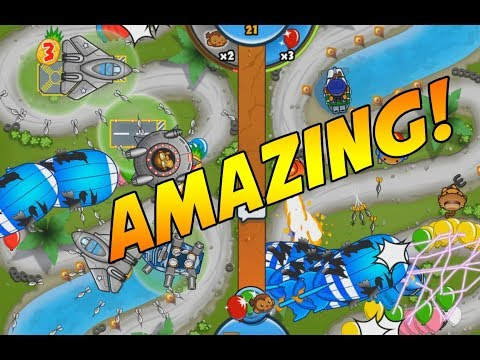 SUPER POWERED FLYING DUO - Bloons TD Battles