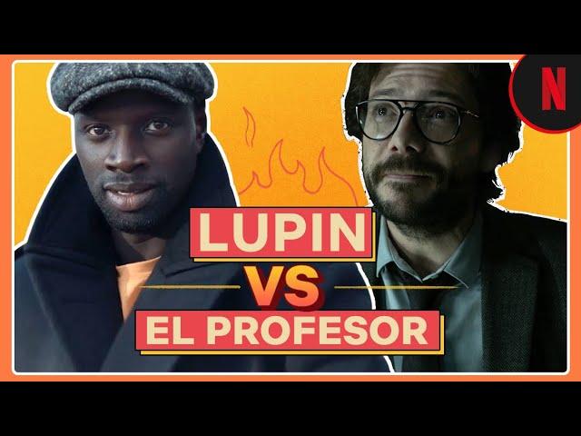 Lupin vs El profesor, ¿quién es más inteligente? | Netflix