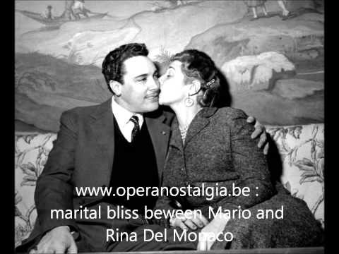 MARIO DEL MONACO interview in English, Hartford  31 January 1957