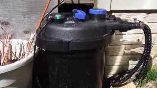 New 4000 Gallon Pressure Filter After 1 Day Of Installation