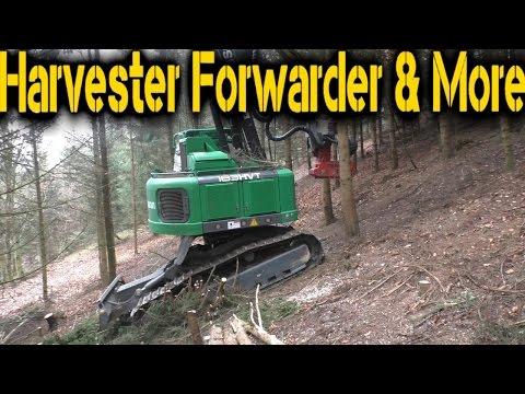 Neuson Forest 183 HVT Track Harvester   UNCUT