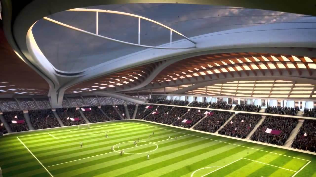 Zaha Hadid Architects   Al Wakrah Stadium Qatar, FIFA World Cup 2022 - YouTube