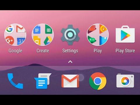 New Nexus/Pixel Android N/Nougat 7.0 Launcher (Apk Download In