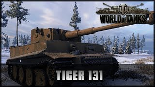 World of Tanks - Live: Tiger 131 - Premium [ deutsch 🐄 gameplay ]
