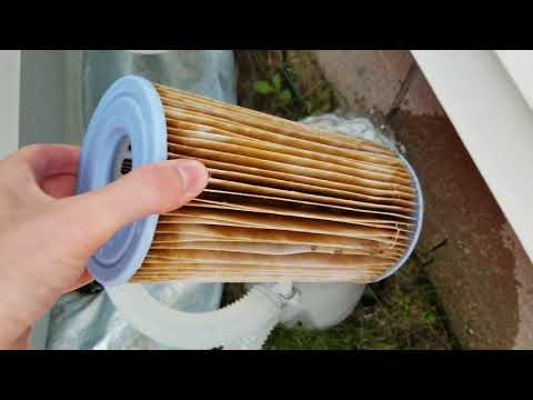 How To Clean Pool Filter - Flushing Filter Cartridge