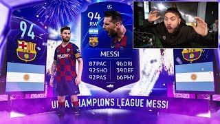 OMG I PACKED BLUE MESSI!!! YOU WON'T BELIEVE THIS! FIFA 20