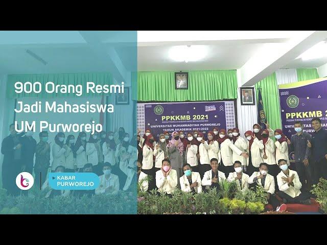 900 Orang Resmi Jadi Mahasiswa UM Purworejo