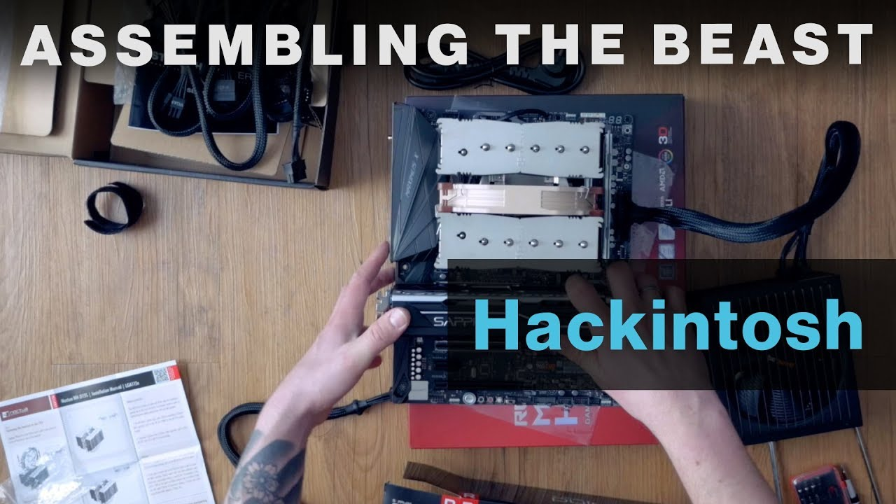 Assembling the Hackintosh 2018 Workstation