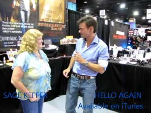 """CMA Music Festival, """"Hello Again""""/ Sage Keffer greets his fans: Day 2 Video 12"""