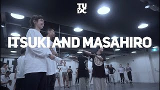 "Masterclass Itsuki & Masahiro at The Urban Dance Center - Garth ""The Mess"""