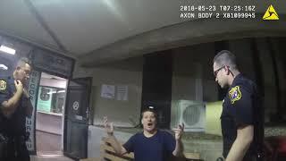 Lenny Dykstra arrest video (2 of 2)