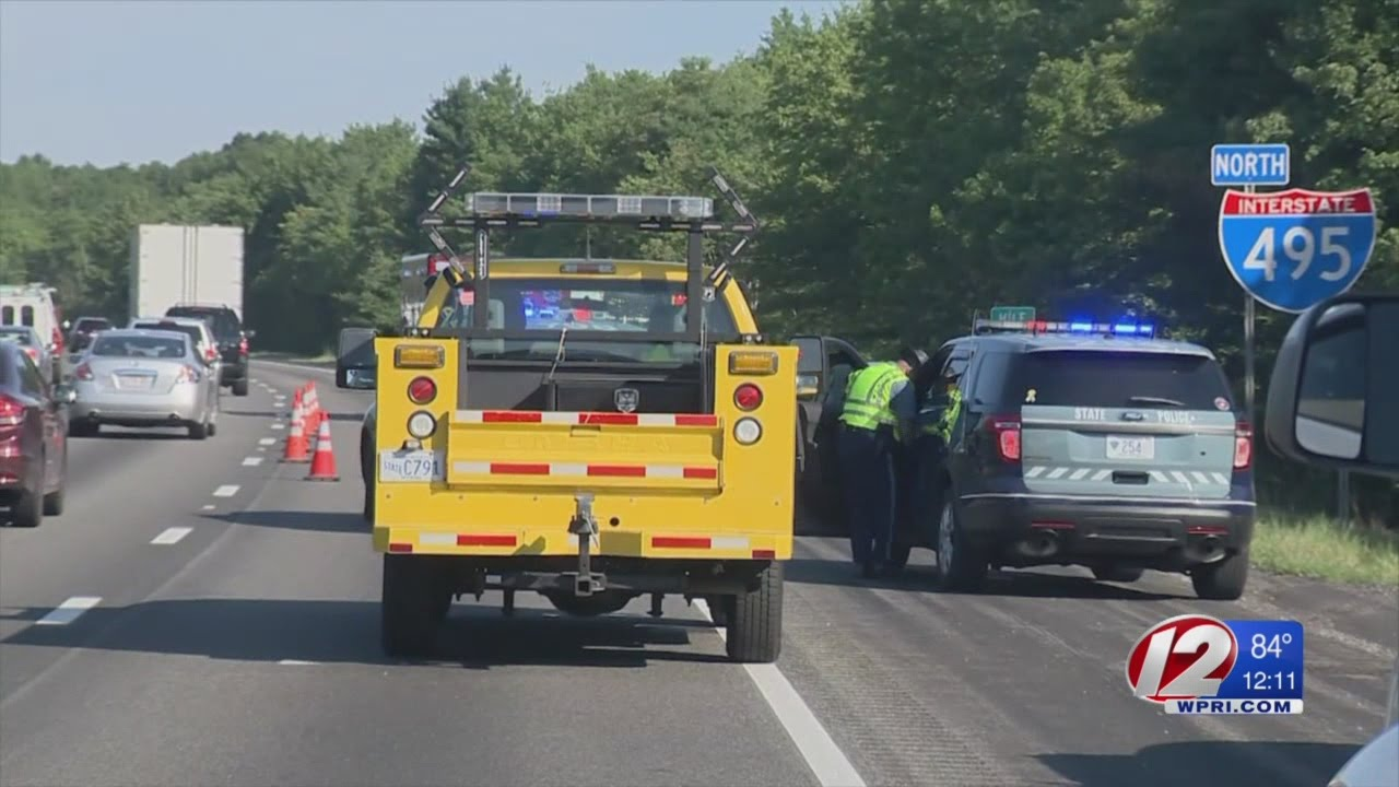 Mass  State Police Investigate Deadly Crash on 495