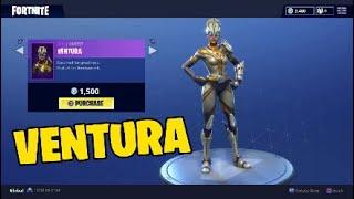 Fortnite new skin. Ventura skin - Female version of venturion