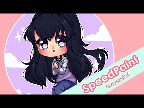 [Speedpaint] Hinata Hyuga Chibi [Naruto Shippuden]