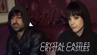 Crystal Castles - NME New Noise Tour 2008 Interview
