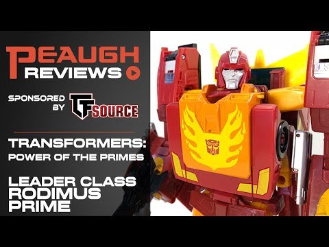 Video Review: Transformers: Power of the Primes - Leader Class RODIMUS PRIME