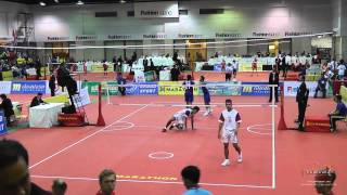 Kings Cup 2014 Sepak Takraw Indonesia vs. Thailand - Doubles
